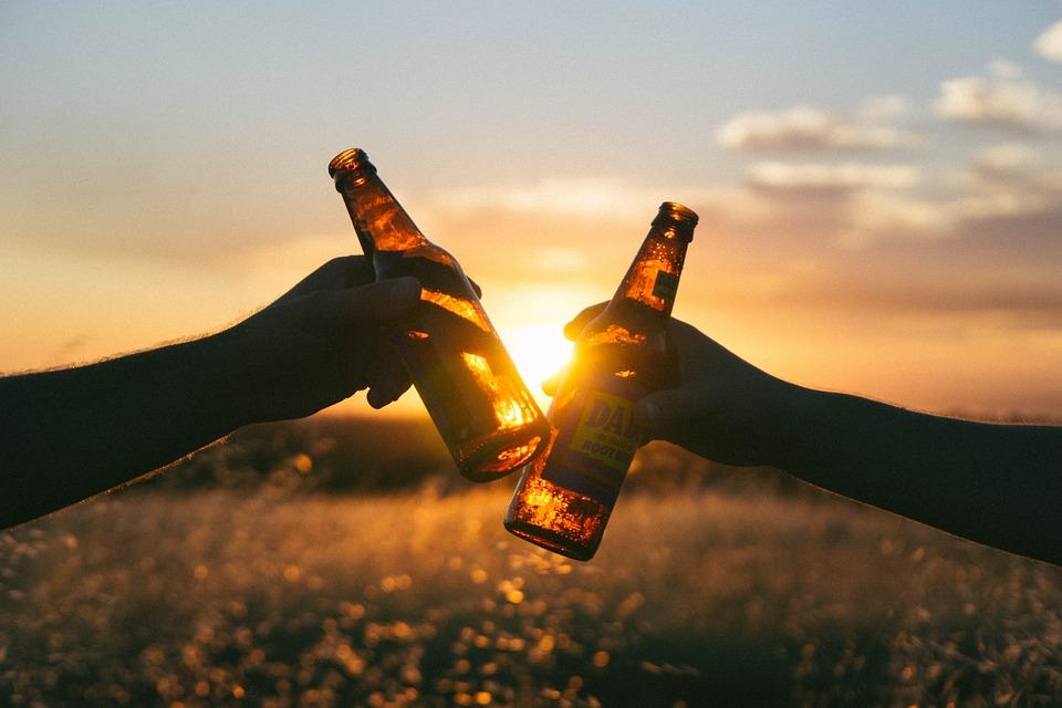 biertjes drinken