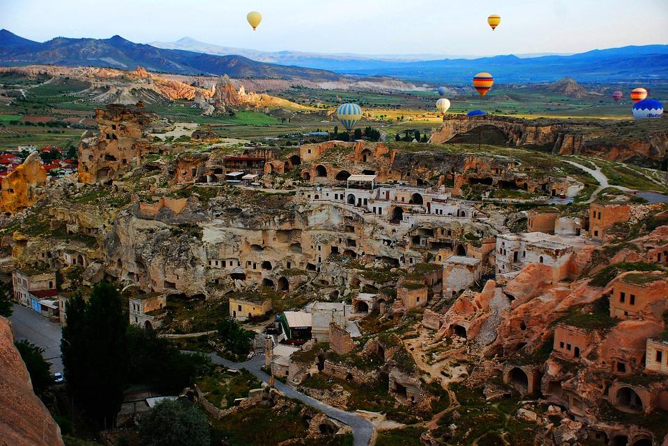 vakantietips turkije: cappadocie