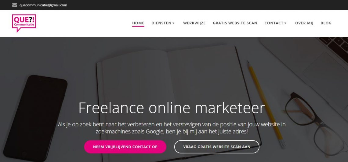 freelance online marketeer