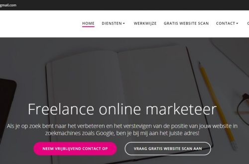 freelance online marketeer
