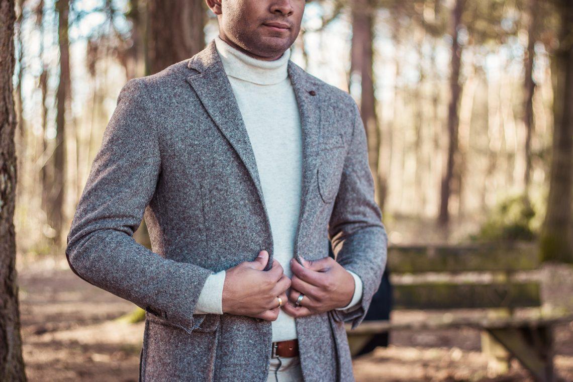 mannen kleding voor koudere dagen