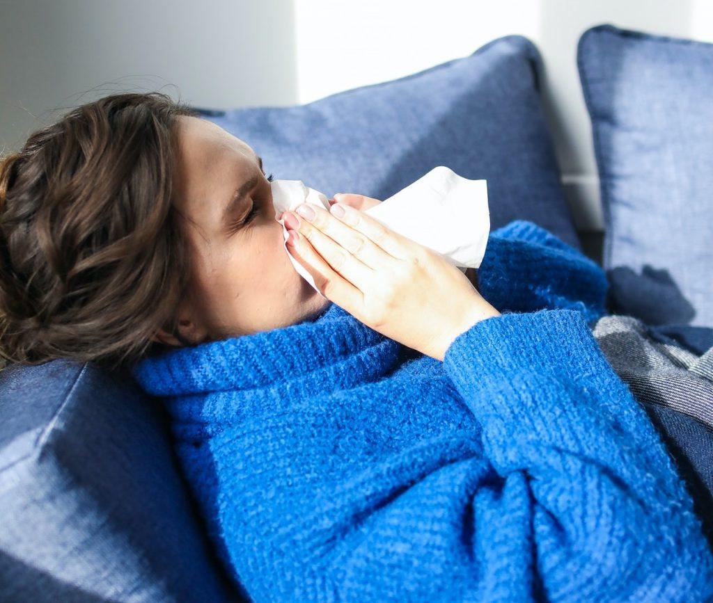 mama heeft de griep
